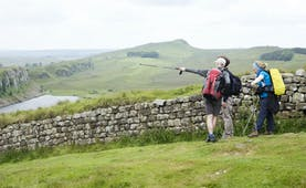 Hadrian's Wall scenery and walking