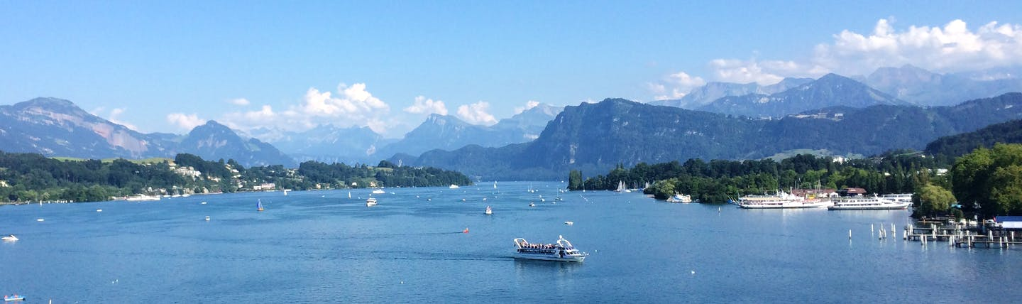 Lake Lucerne lake surrounded by mountains
