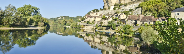 Village of Beynac-et-Cazenac on the River Dordogne